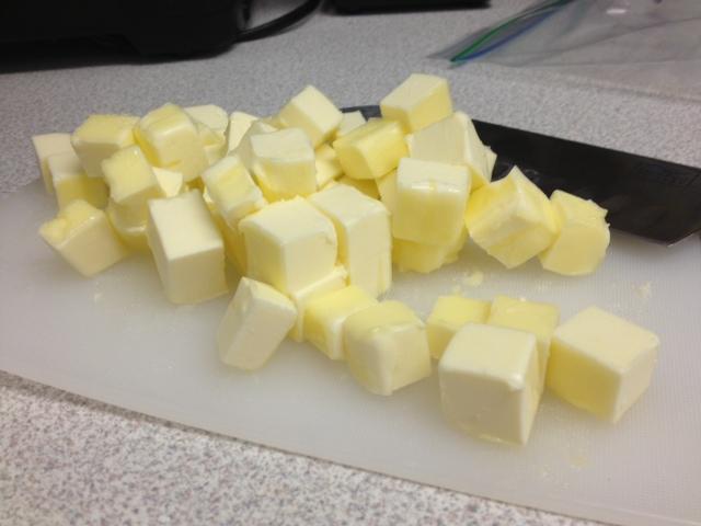 butter cubes!