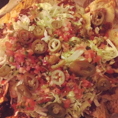 weeknight nachos